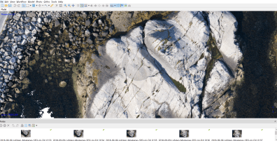 """Rock"" on Lofoten Islands 