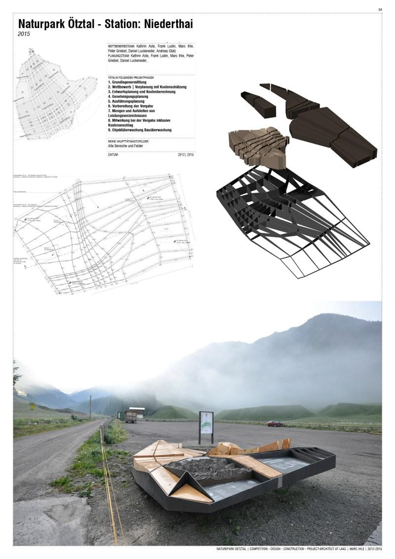 Project Team-Work at LAAC Architekten Innsbruck, Austria | 2009 - 2015