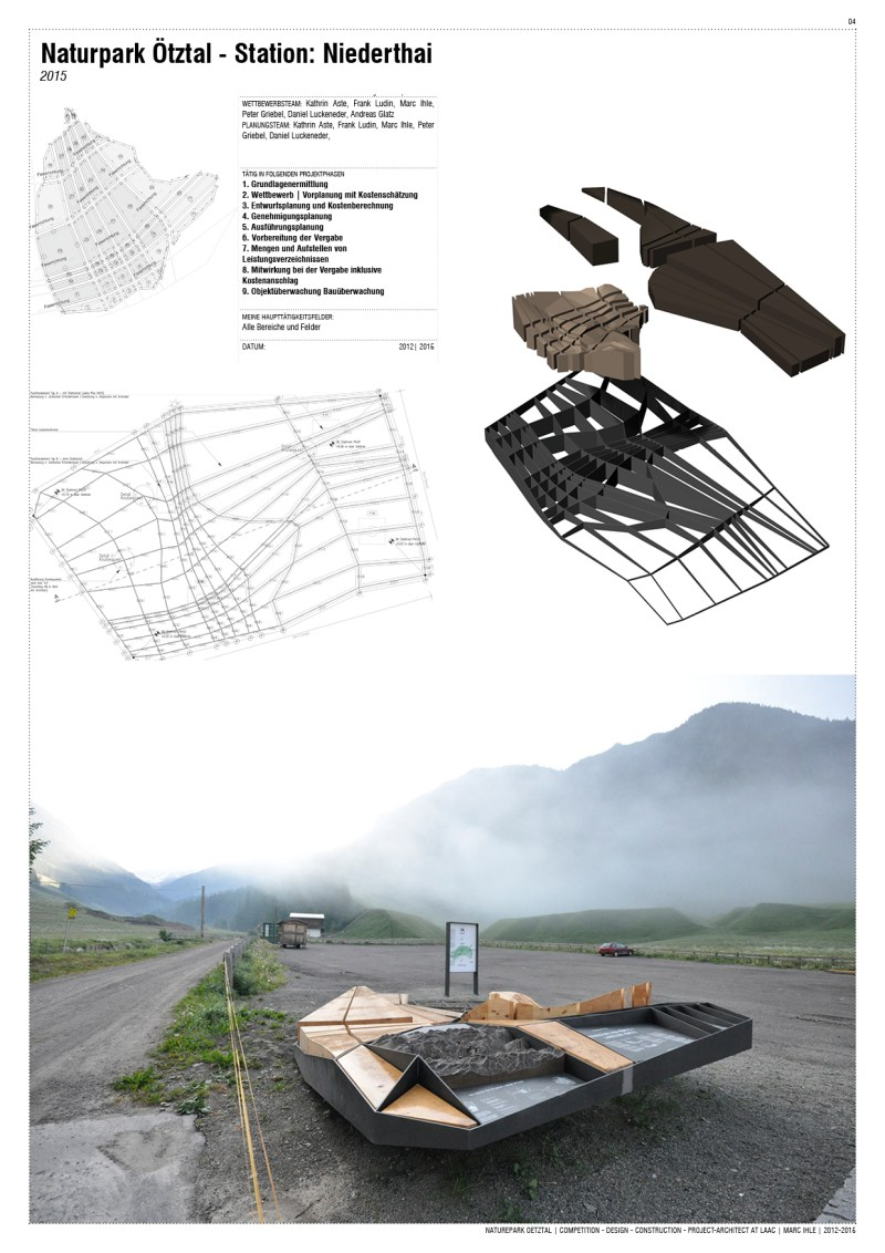 Project Team-Work at LAAC Architekten Innsbruck, Austria | 2009 - 2015
