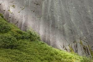 Granite meeting Green  Lofoten, Norway 2016   Foto: Marc Ihle