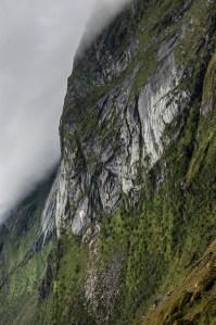 Mountain in Clouds   Lofoten, Norway 2016   Foto: Marc Ihle