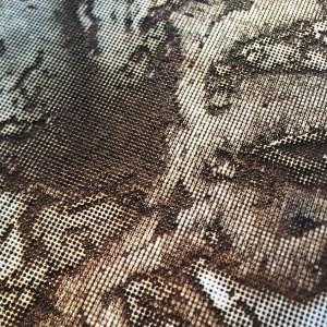 Terrain Potentials of Hadsel Island, Norway | Laser Print on Wood | 2019