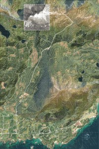 Storheia Hadsel   Landscape Model for Laser-Cut-Fabrication   2019