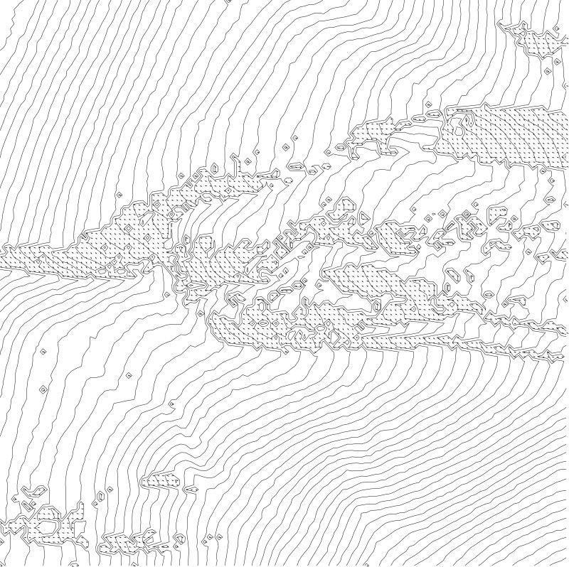 Terrain Design Information & Speculative Trajectories of Natural Dynamic Processes | Workshop at the Tromsø Academy of Landscape and Territorial Studies - Part II | Image: Marc Ihle