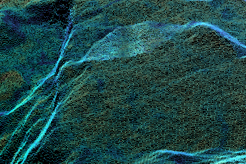 'Carbon Rock' - 3d Scan of a Rock-Sample of the Mining Site at Svea on Spitsbergen, Svalbard | Organic matter exposed to Natural Forces of Pressure and Temperature 2019 | Scan/Animation: Marc Ihle
