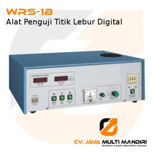 Alat Penguji Titik Lebur Digital WRS-1B