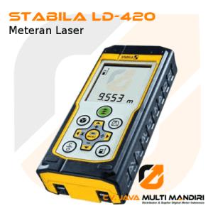 Meteran Laser Stabila LD-420