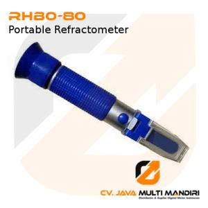 Portable Refractometer AMTAST RHB0-80