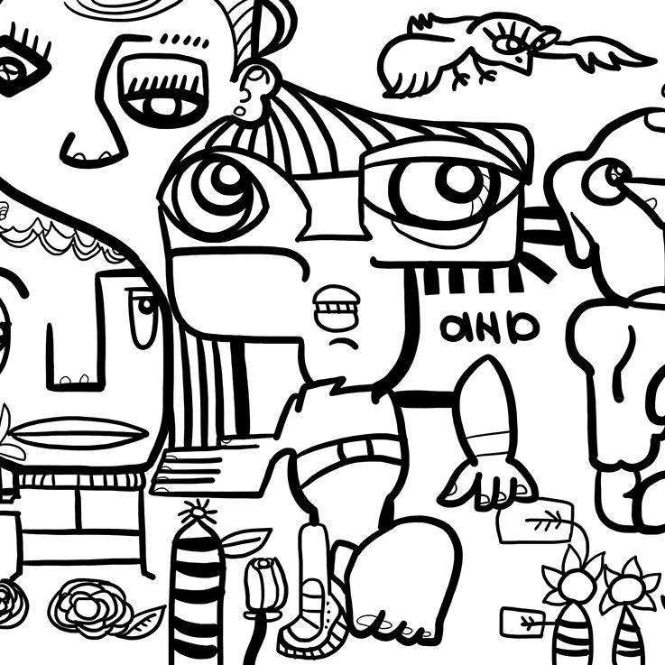 Animation Team Building Fresque Digitale Idée Original my art box et aNa artiste pour aws