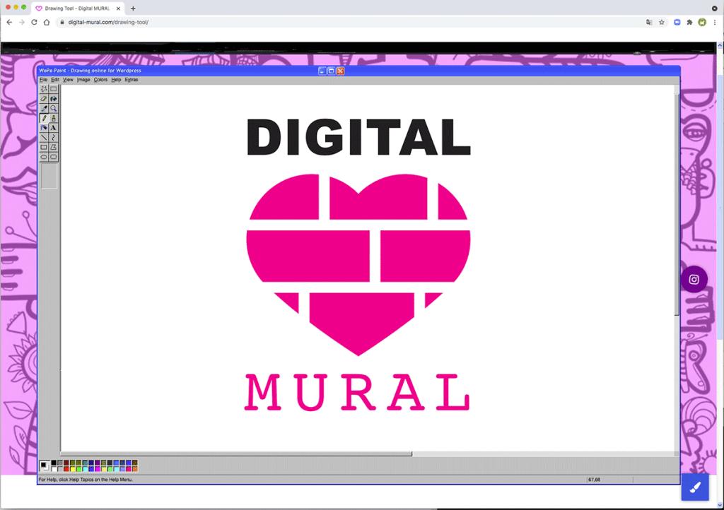 Digital Mural Online tool - Fresque digitale Outil de dessin en ligne pour Animation Brainstorming à distance fresque digitale et team building digital mural
