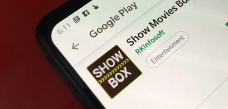show box google tv