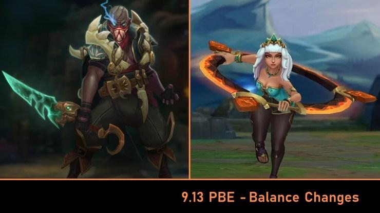 League of Legends 9 13 PBE: Pyke And Qiyana Balance Changes