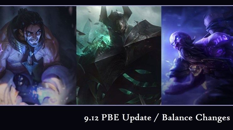 League of Legends 9 12 PBE: New Balance Changes to Sylas