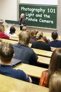 Photography 101 - Light and the Pinhole Camera