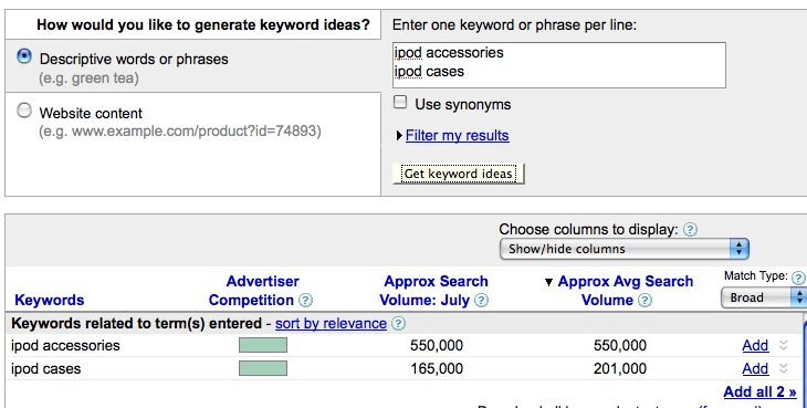 AdWords Keyword Tool How to Use it to Hone Post Titles and