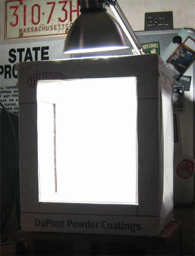 There are many variations you can do to get the photo you want. If youu0027re having a shadow problem I suggest lighting the other sides of the box. & How to Make An Inexpensive Light Tent - DIY azcodes.com