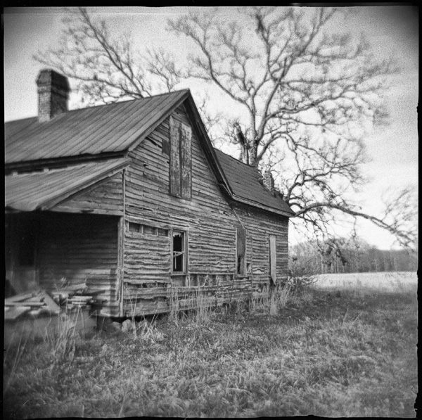 Old House Holga