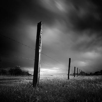Black-And-White-Landscape