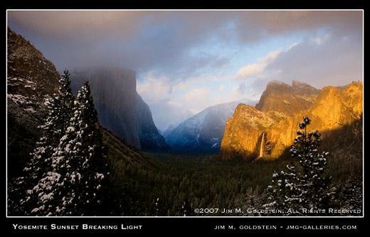 Yosemite Breaking Light Jimgoldstein 520Cc-1