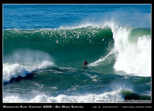 Mavericks Big Wave Surf Competition photo by Jim M. Goldstein