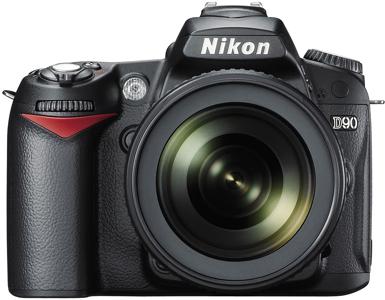 Nikon d90 dslr.