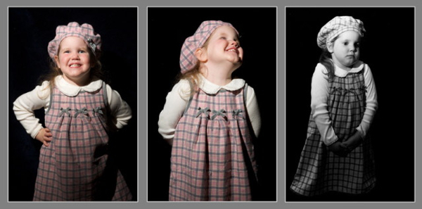 Darkening Backgrounds With Light in Portraits