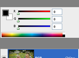 How to Create Black & White Images from a Single RGB Channel