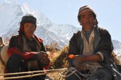 Tibetan Herders In Nepal
