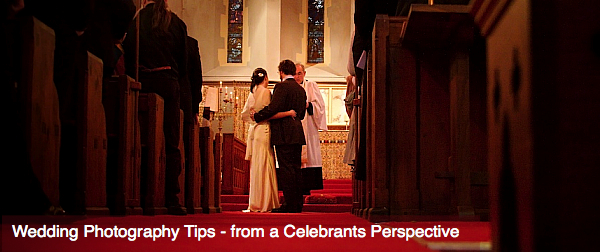 Wedding Photography Tips: From a Celebrants Perspective
