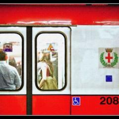 Red Line Metro in Milan