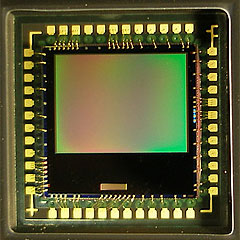 Fig 1.7.0 A typical digital camera sensor and mount.