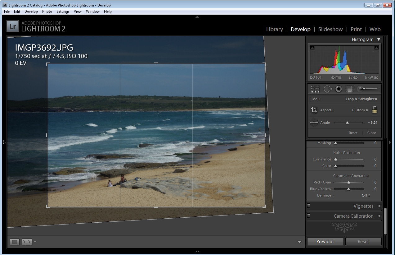 Simple Lightroom Image Fixing Workflow