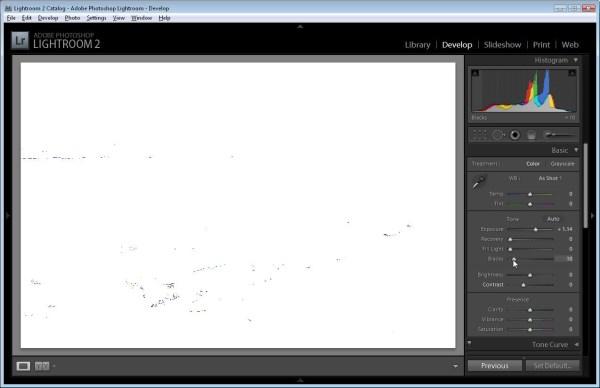 Simple Lightroom Image Fixing Workflow