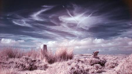 White Edge Trig Point by Dave Wild