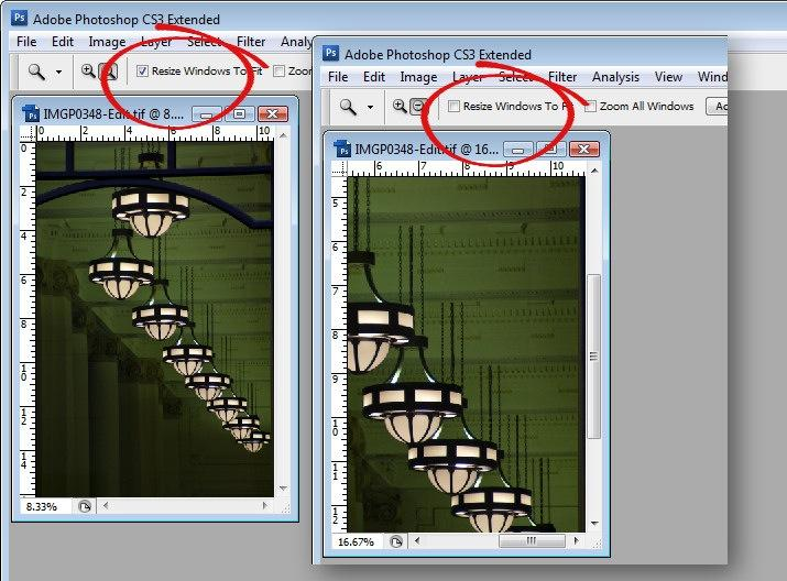 8 secrets of the zoom tool in photoshop if you zoom in with this option disabled the window stays the same size as you zoom ccuart Image collections