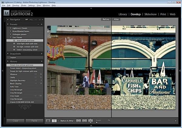 Installing Adobe Lightoom Presets