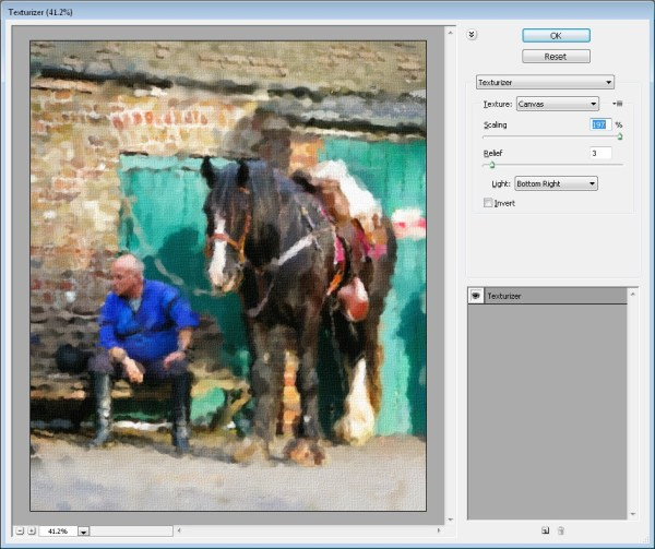 Painting a Photo in Photoshop