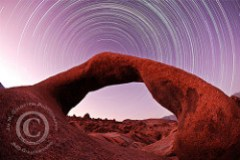 Mobius Arch and Startrails