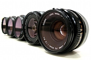 Lineup of Lenses - by canonsnapper