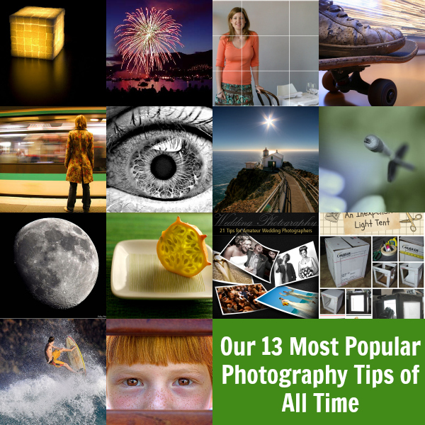 Our 13 Most Popular Photography Tutorials of All Time