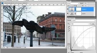 Photoshop: Applying Fixes using Adjustment Layers and Masks