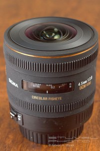 Sigma 4.5mm Fisheye - What's it like?