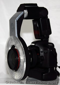 Using The Ray-Flash Ring Flash Adapter To Reduce Shadows
