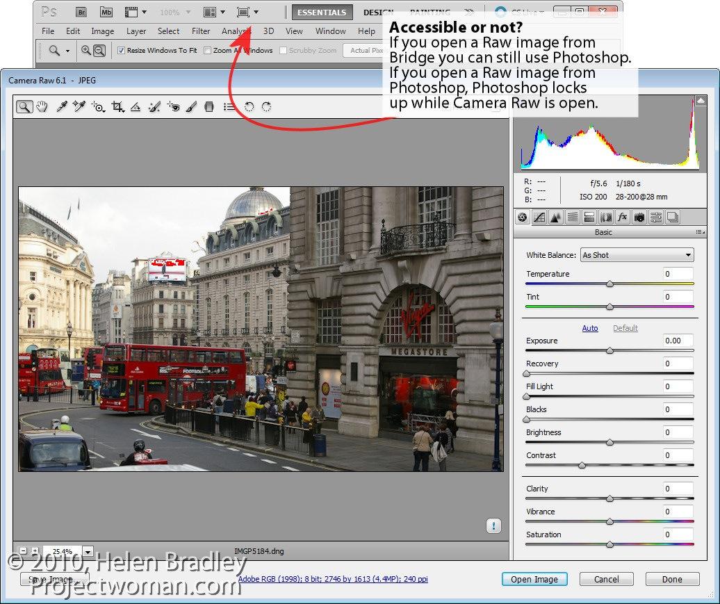 convert raw to jpeg using adobe bridge