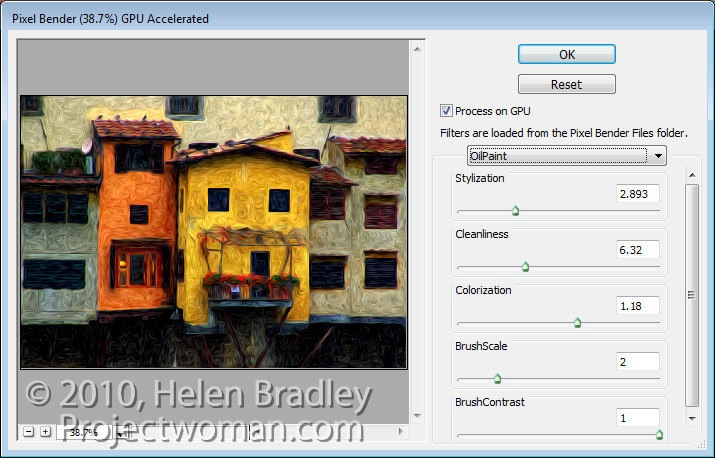 Download Oil Paint Filter For Photoshop Cs