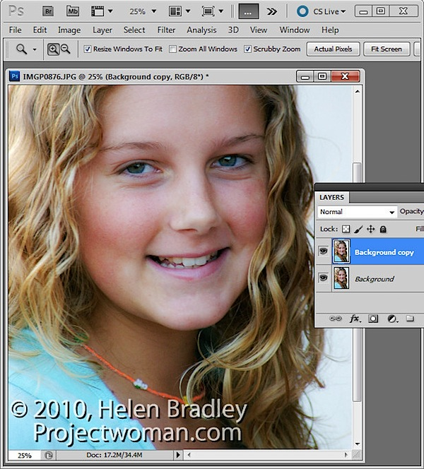 Photoshop: High Pass Softening