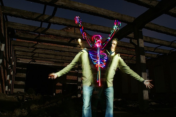 Spooky Light Painting: Tutorial