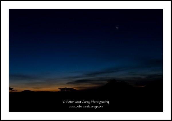 Image: Past Sunset On The Serengeti - Tanzania
