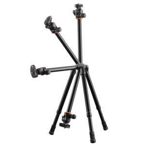 Nivelo 204 tripod by Vanguard, designed for a new generation of more compact cameras