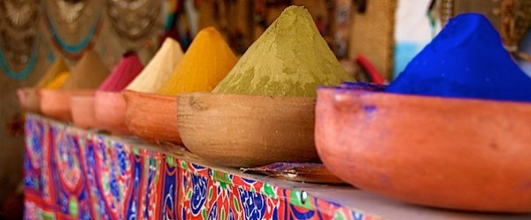 Color - Colorful Dies - Near Aswan, Egypt - Copyright 2010 Ralph Velasco.jpg